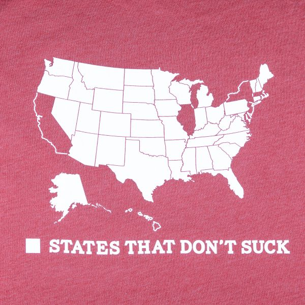 States That Don't Suck T-Shirt