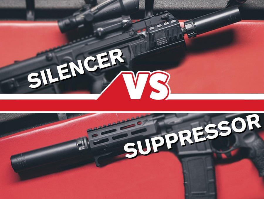 silencer vs a suppressor